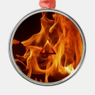 要素の火災標識 メタルオーナメント