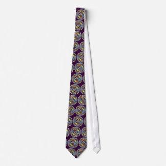 要素の紫色のタイの天恵 オリジナルタイ
