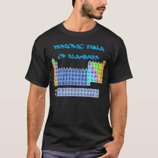 要素のTシャツの周期表 Tシャツ