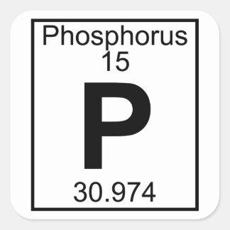 要素015 - P -リン(完全な) スクエアシール