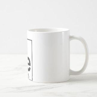 要素026 - Fe -鉄(完全な) コーヒーマグカップ