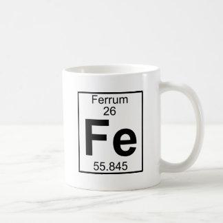 要素026 - Fe - Ferrum (完全な) コーヒーマグカップ