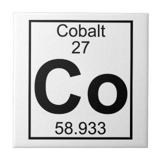 要素027 -共同コバルト(完全な) タイル