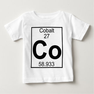 要素027 -共同コバルト(完全な) ベビーTシャツ
