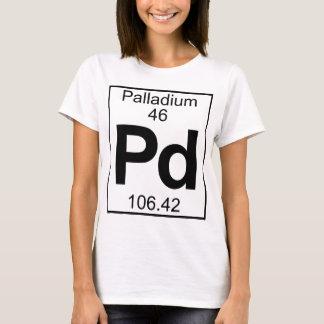 要素046 - Pd -パラジウム(完全な) Tシャツ