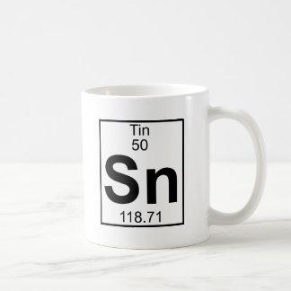 要素050 - Sn -錫(完全な) コーヒーマグカップ