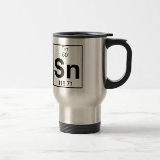 要素050 - Sn -錫(完全な) トラベルマグ