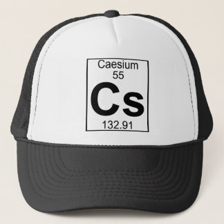 要素055 - CS -セシウム(完全な) キャップ