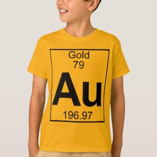 要素079 - Au -金ゴールド(完全な) Tシャツ