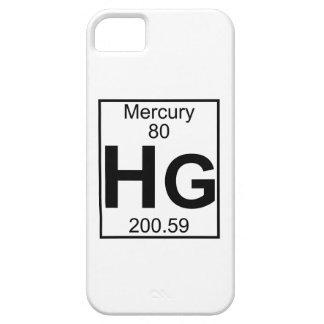 要素080 - Hg -水星(完全な) iPhone SE/5/5s ケース