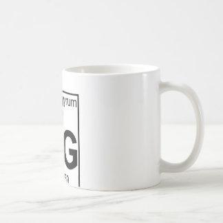 要素080 - Hg -水銀(完全な) コーヒーマグカップ