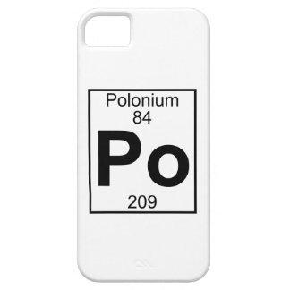 要素084 - Po -ポロニウム(完全な) iPhone SE/5/5s ケース