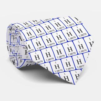 要素1のタイ-水素 カスタムネクタイ