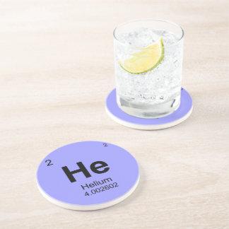 要素(ヘリウム)の周期表 コースター