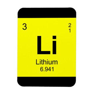 要素(リチウム)の周期表 マグネット