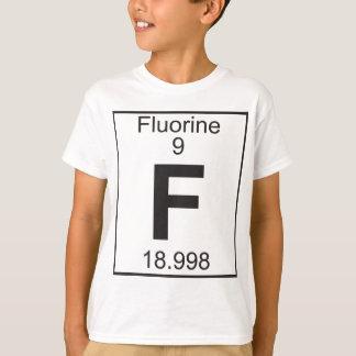 要素   9 - f (フッ素) tシャツ
