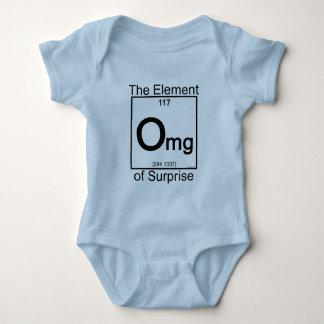 要素OMGの乳児のワイシャツ ベビーボディスーツ