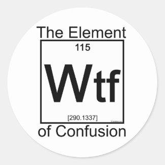 要素WTF ラウンドシール