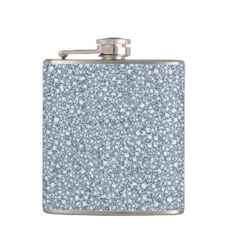覆われたダイヤモンドの一見のグリッターの軽い音 フラスク