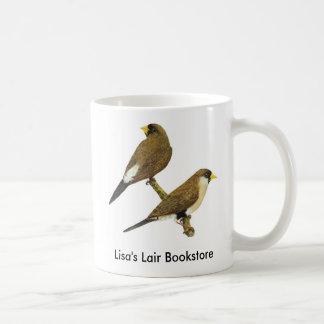 覆われたフィンチ- Poephilaのpersonata BookstorePromo コーヒーマグカップ