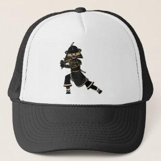 覆われた武士の戦士の帽子 キャップ