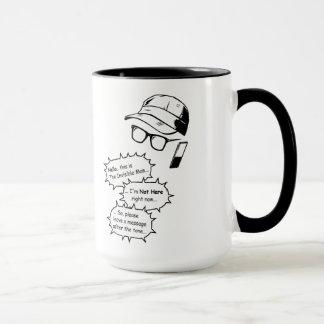 見えない人 マグカップ