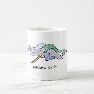 見えない猫のマグ コーヒーマグカップ