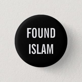 見つけられたイスラム教ボタン 3.2CM 丸型バッジ