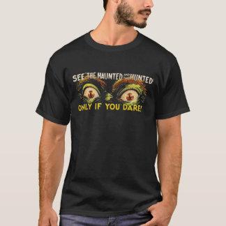 """見て下さい""""捜される""""幽霊のよく出るのおよび Tシャツ"""
