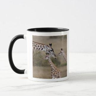 見られるMaasaiのキリン(キリンTippelskirchi) マグカップ