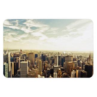 見ることニューヨークシティのスカイラインに マグネット
