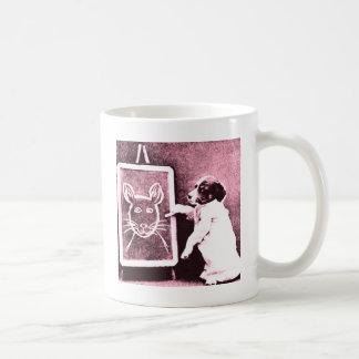 見る何がスケッチのマウスであるために後をつけて下さい コーヒーマグカップ