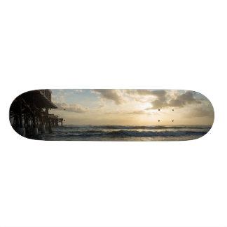 見事なビーチの朝 19.7CM スケートボードデッキ