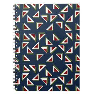 見事な三角形のノート ノートブック