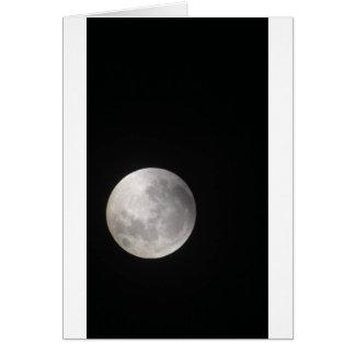 見事な満月 カード