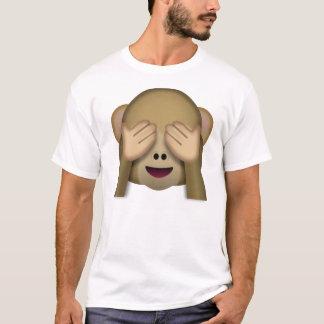 見悪猿のemoji tシャツ