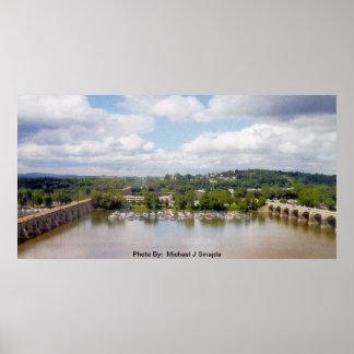 見落としのSusquehanna川 ポスター