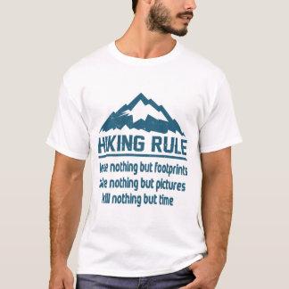 規則のハイキング Tシャツ
