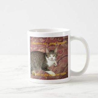 規則の子猫 コーヒーマグカップ