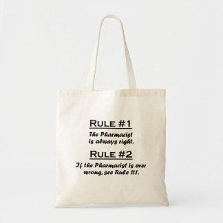 規則の薬剤師 トートバッグ