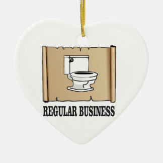 規則的なビジネス洗面所 セラミックオーナメント