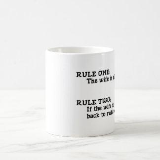 規則 コーヒーマグカップ