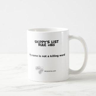 規則#185のマグ コーヒーマグカップ