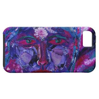 視力の-マゼンタ及びすみれ色の内部の視野 iPhone SE/5/5s ケース
