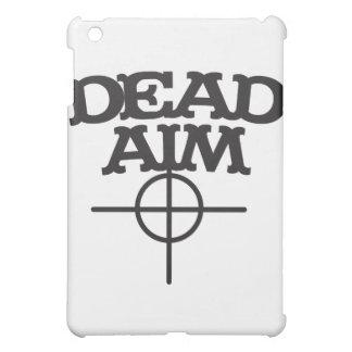 視力ターゲットとの死んだ目標 iPad MINIケース