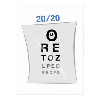 視力検査表 ポストカード