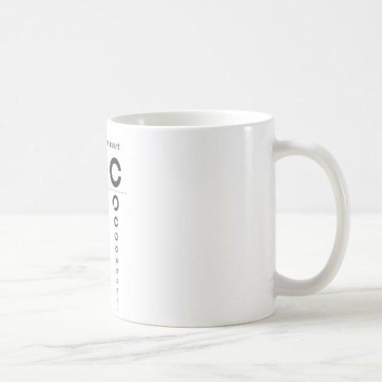 視力検査 I Appeal コーヒーマグカップ