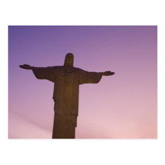視点、Corcovado、704のキリストの彫像 ポストカード