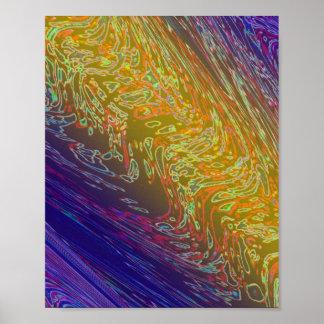 視覚歩行: 宇宙の銀河系の無限 ポスター