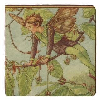 視野のスタジオによるブナの木の妖精 トリベット